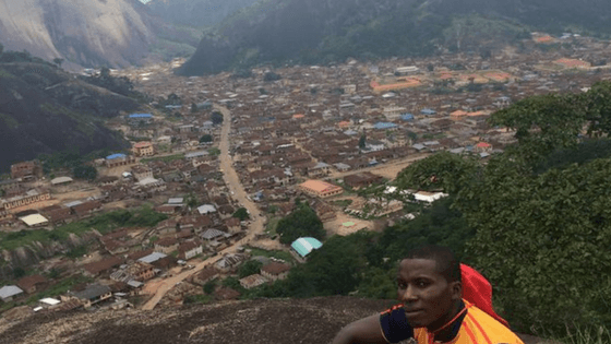Breathtaking View from the Top of Idanre Hills