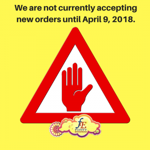 NO NEW ORDERS